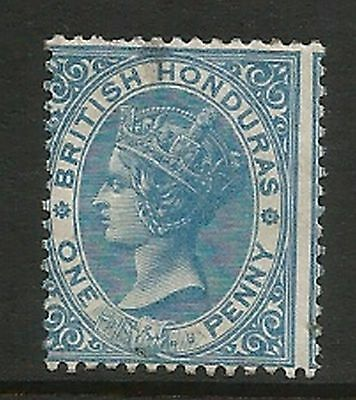 1872-9 British Honduras Perf 14 Mounted Mint Back Crease Not Seen From Front