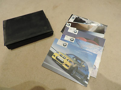 Bmw M3 E46 Handbook Owners Manual Leather Owners Pack - Instruction Manual