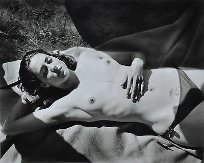 Jock Sturges Original XXL Photo Kunstdruck Art Print 73x67cm Nude Girl Woman B&W