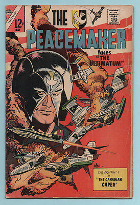 The Peacemaker 2 1967 Charlton Comics THE ULTIMATUM