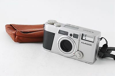 Fujifilm KLASSE 35mm Point & Shoot Film Camera w/Softcase *Excellent+ from Japan