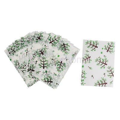 50pcs Tree Print Waterproof Dry Wax Paper Sheets Food Candy Wrapping Tissue