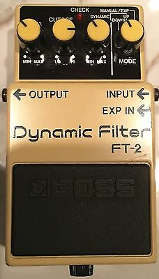 Boss FT-2 Dynamic Filter Made in Japan MIJ