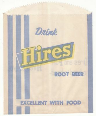 Hires Root Beer Bottle Bag~G36346