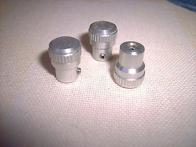 Meade ETX aluminum telescope knob set of 3 -   NEW!