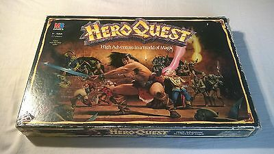 Heroquest Boxed Set With Detail Painted Figures. Original Game.