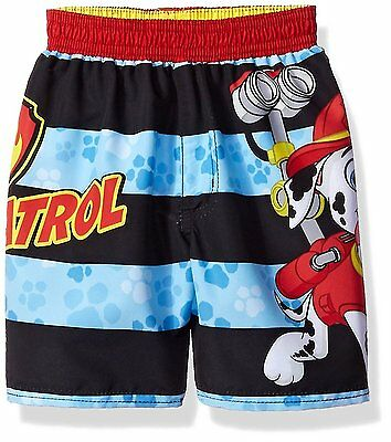 PAW PATROL MARSHALL UPF-50+ Bathing Suit Swim Trunks Toddler Sz. 2T 3T or 4T $22