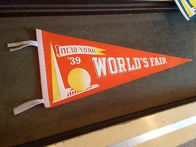 Vintage Historic 1939 New York World's Fair New Old Stock