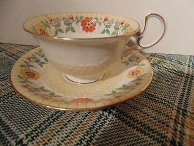 aynsley cup and saucer, very attractive.