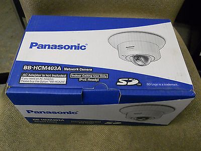 Panasonic PoE Indoor Dome Network Camera  BB-HCM403A  NEW Old Stock
