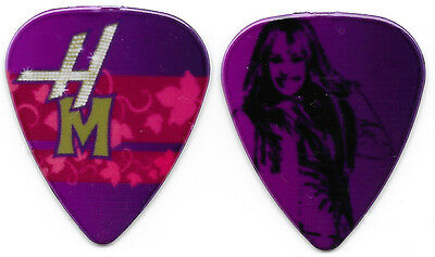 Miley Cyrus--Very Rare Vintage Hannah Montana Guitar Pick! Pink & Purple!
