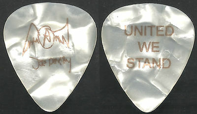 Aerosmith Pick Collection--9/11 Charity Guitar Pick-Joe Perry-Pearl/blue Large!