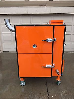 Smoker, Gravity feed smoker, BBQ, BBQ Smoker, Stumps, BBQ Cooker, Cooker