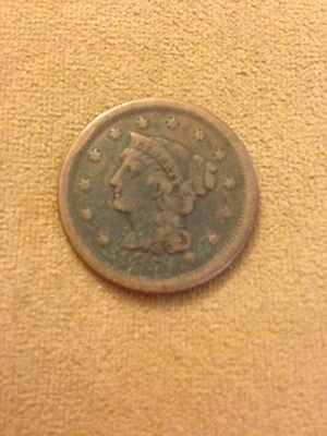 1851 Large Cent BN Circulated