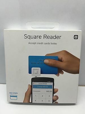 New Square Credit Debit Card Reader for use with Apple or Android phones