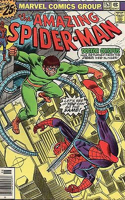 The Amazing Spider-Man #157 (Jun 1976, Marvel) Bronze Age Comic Book