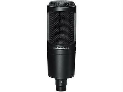 NEW Audio Technica AT2020 Side Address Cardioid Condenser Studio Microphone