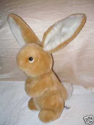 Vintage Russ Berrie Bunkles Bunny Rabbit Baby Rattle Inside Tail #405
