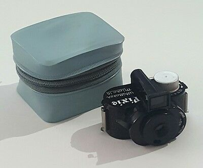 WHITTAKER MICRO 16 PIXIE Camera Blue Case Untested