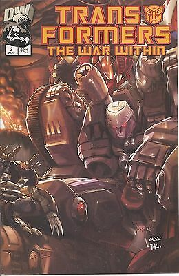The Transformers : The War Within #2 - NM