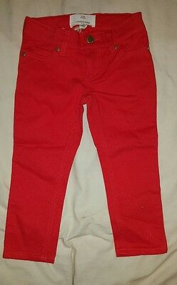 girls red country road  jeans