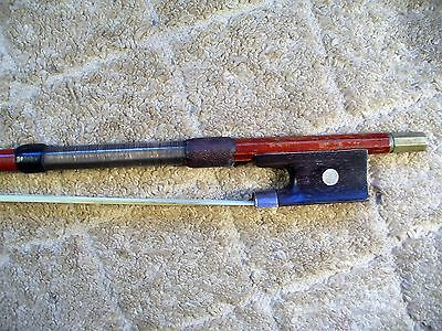 Old Silver Mounted Violin Bow, Full Size, no reserve