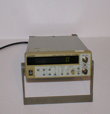 Leader LF 826 550MHz Frequency Counter
