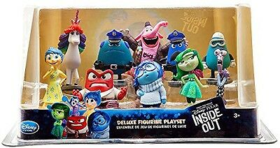 Disney Inside Out Deluxe Figurine Set New In Box