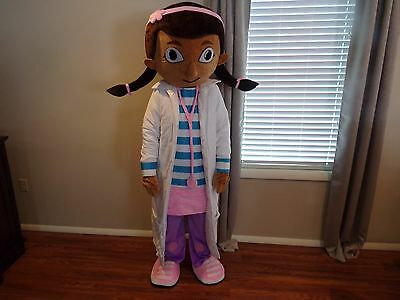 Doc Mcstuffins Adult Suit Mascot Costume Fancy dress for Birthday Party