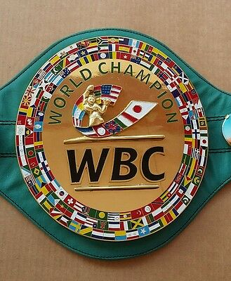 Wbc championship boxing belt 3D replica adult