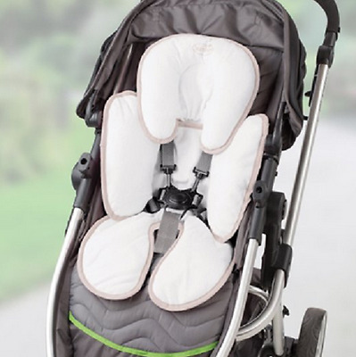 Infant Summer Snuzzler Head and Body Support Car Seats And Strollers, Ivory