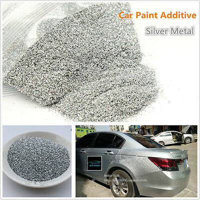 "6oz / 177ml 170g 0.4mm/0.016"" PET Silver Metal Flake Auto Car Paint Additive"