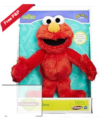 The Furchester Hotel Elmo Let''s Cuddle Soft Toy