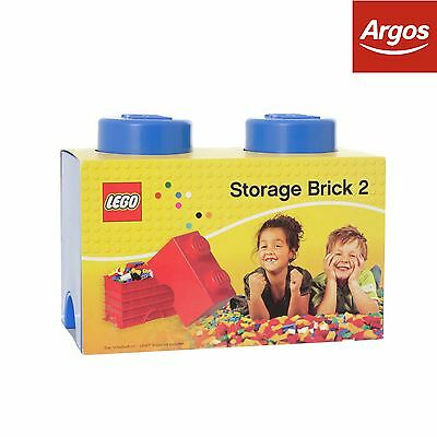 LEGO® Storage Brick 2 - Blue. From the Official Argos Shop on ebay