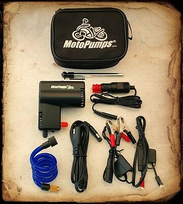 Motopump Air Shot 12V motorcycle ATV Car air compressor / inflator / tire pump
