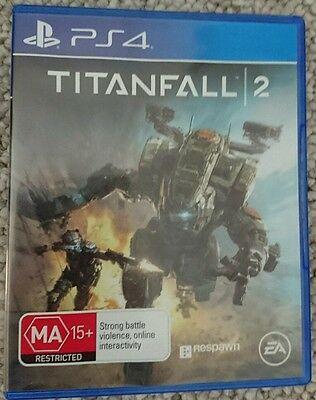 Titanfall 2, Sony Playstation 4 PS4, AUS version
