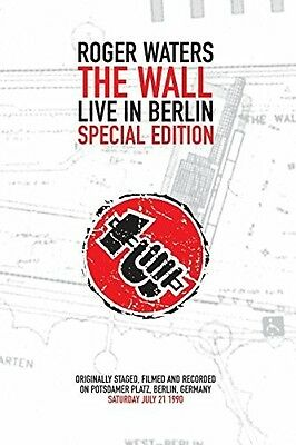 Roger Waters (Pink Floyd) 'the Wall' Dvd New+!