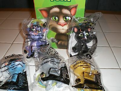 Lot of Talking Tom's Plus Collectors Box