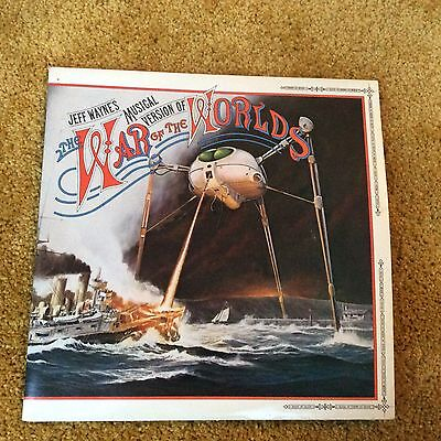War of the Worlds Double Album with Booklet