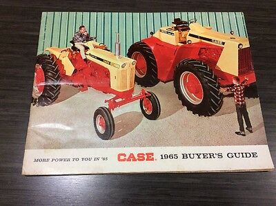 Case 1965 Buyers Guide Featuring the 1200 Tractor