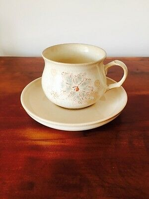 Denby Maplewood Cup and Saucer