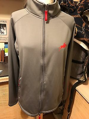 Harry Hall Grey Light Weight Jacket Sz 16