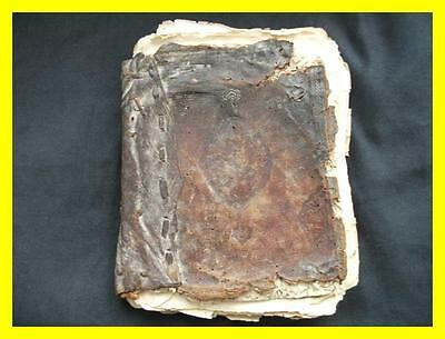 18Th C Saddle Bag Qur'an,koran,40 Pages Double Sided,persian,ottoman,african?