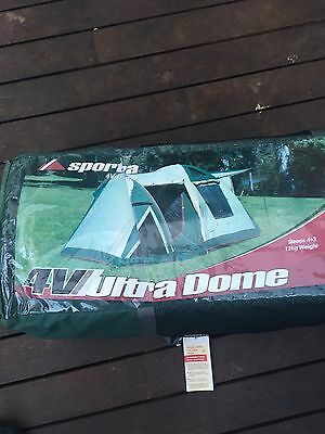 Brand New 4 V Ultra Dome Tent