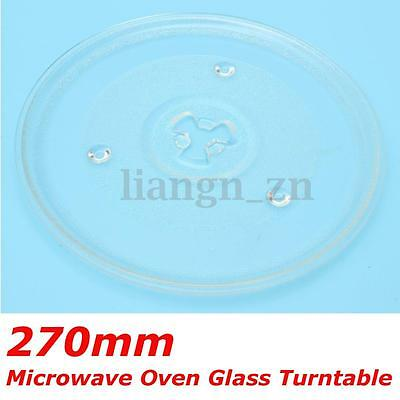 1Pc Microwave Oven Turntable Glass Tray Glass Plate Accessories Diameter 270mm