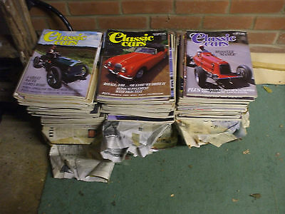 CLASSIC CARS MAGAZINE 150 ISSUES   1990's & EARLIER