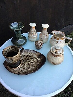 Job Lot Collection of Fosters Pottery, Cornwall