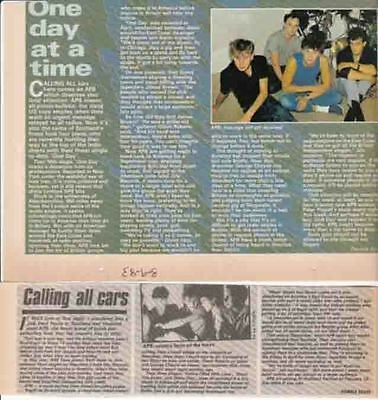 APB : CUTTINGS COLLECTION -interviews-