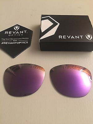 Oakley Frogskins Polarized Replacement Lens Plasma Purple By Revant Optics