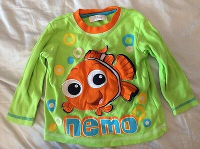 Disney Store Finding Nemo long sleeve t shirt baby boy 18-24 months